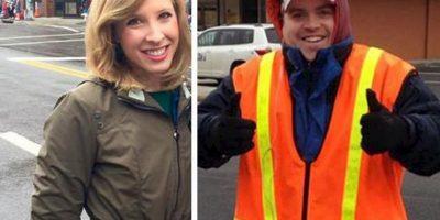 "Ambos trabajaban en el canal local de Virginia, ""WDBJ"", filial de la cadena ""CBS"". Foto:AP"