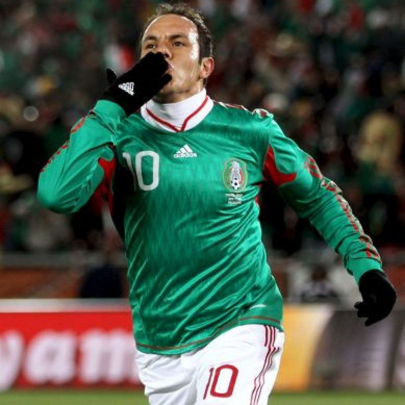 Es considerado uno de los mejores futbolistas en la historia de México y eso que nunca tuvo una forma física perfecta. Foto:Getty Images