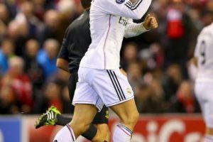 2. Gol de Cristiano Ronaldo (Real Madrid) al Liverpool. Foto:Getty Images