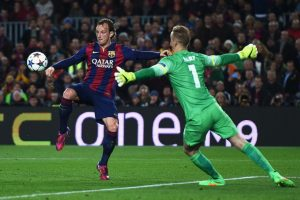 5. Joe Hart (Manchester City) ante Barcelona. Foto:Getty Images
