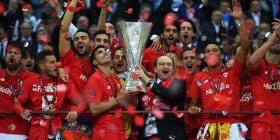 Son bicampeones de la Europa League Foto:Getty Images