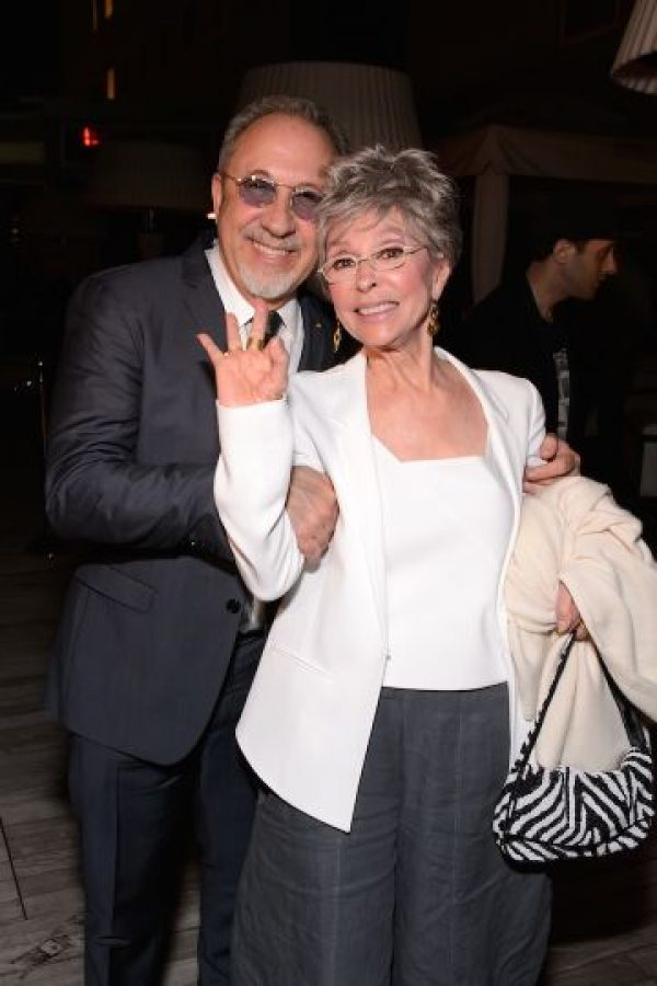 Emilio Estefan y Rita Moreno Foto:Getty Images