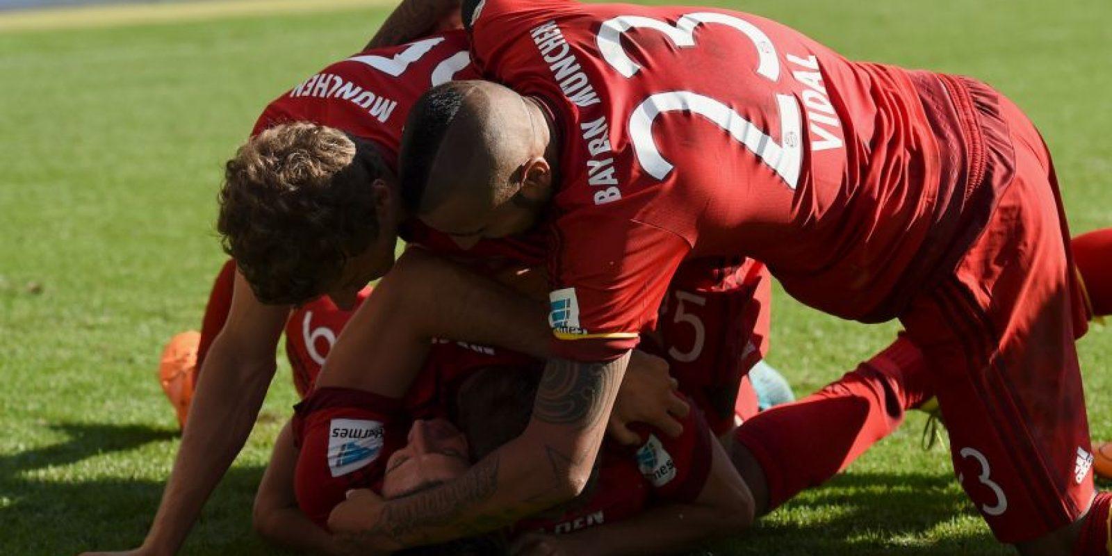 Es el segundo mejor club de Europa y deberían ganar el Grupo F Foto:Getty Images