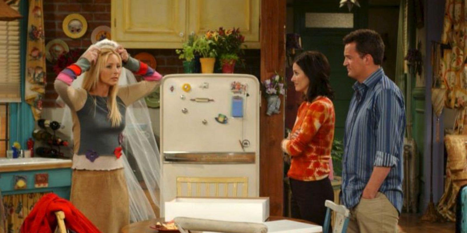 Al final, su embarazo, boda y todo lo que vivió con sus amigos se convierte en una ilusión Foto:vía facebook.com/friends.tv