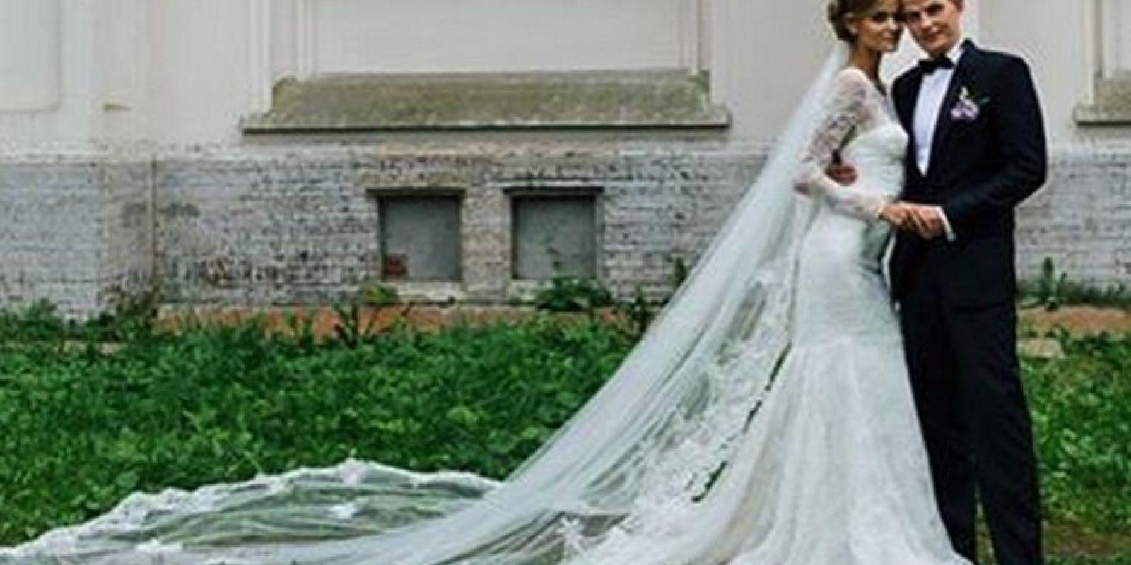 Se casó con su novio Alexander a comienzos de este mes Foto:Vía Instagram