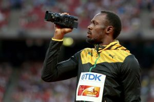 Medalla de Oro en el Mundial de Atletismo 2015 en 100 metros planos. Foto:Getty Images