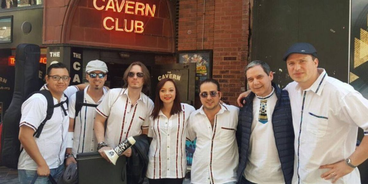 Banda guatemalteca se presentó en el prestigioso festival Beatleweek 2015