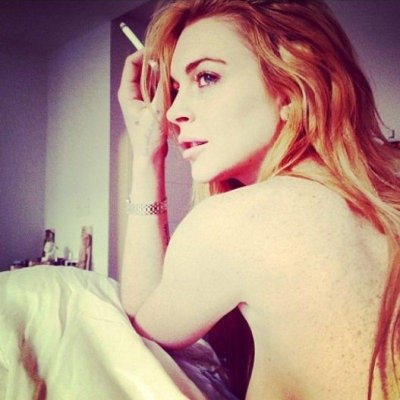 """""""Lindsay sabe muchos secretos sobre algunas de las personas más poderosas de Hollywood"""", alertó la fuente. Foto:vía instagram.com/lindsaylohan"""