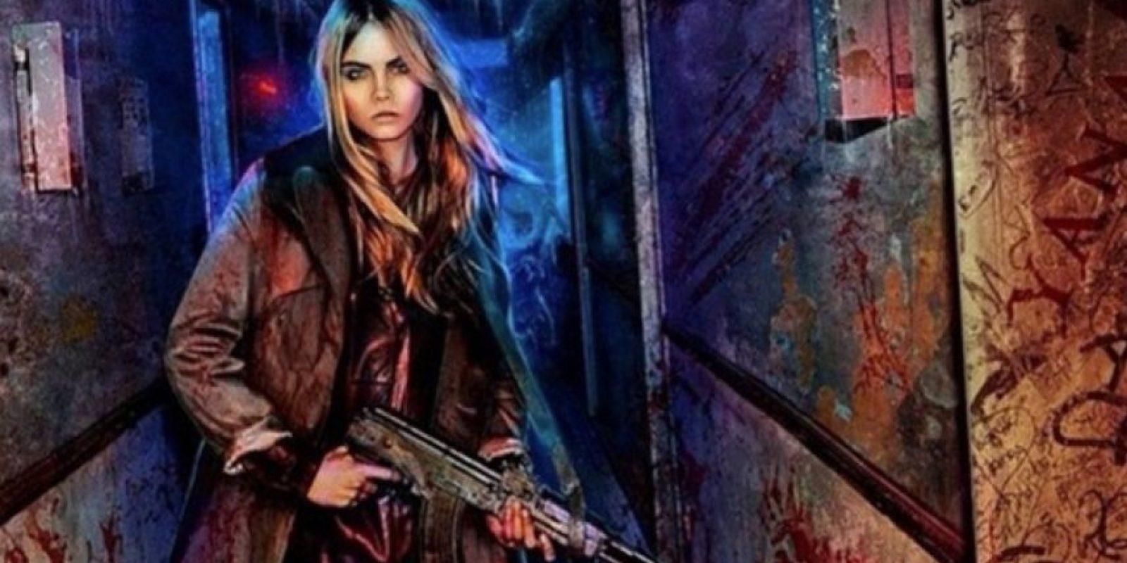 """La modelo Cara Delevingne será """"Enchantress"""". Foto:vía instagram.com/caradelevingne"""