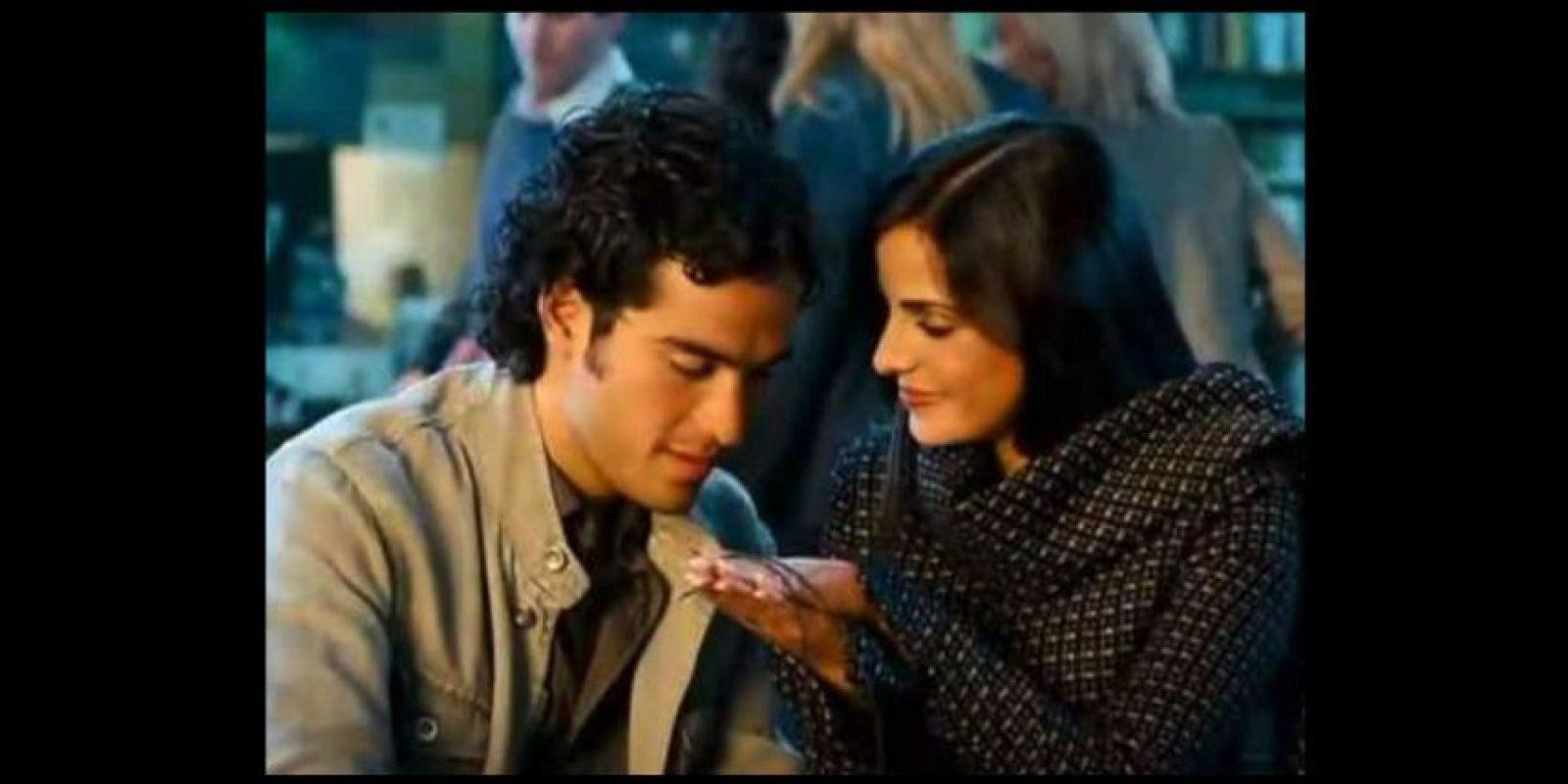 """En 2008 protagonizó la cinta """"Volverte a Ver"""". Foto:YouTube"""
