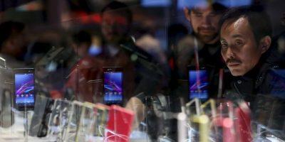 El Sony Xperia Z2 es el primer dispositivo de la gama Z de Sony en incorporar un sonido estéreo Foto:Getty Images