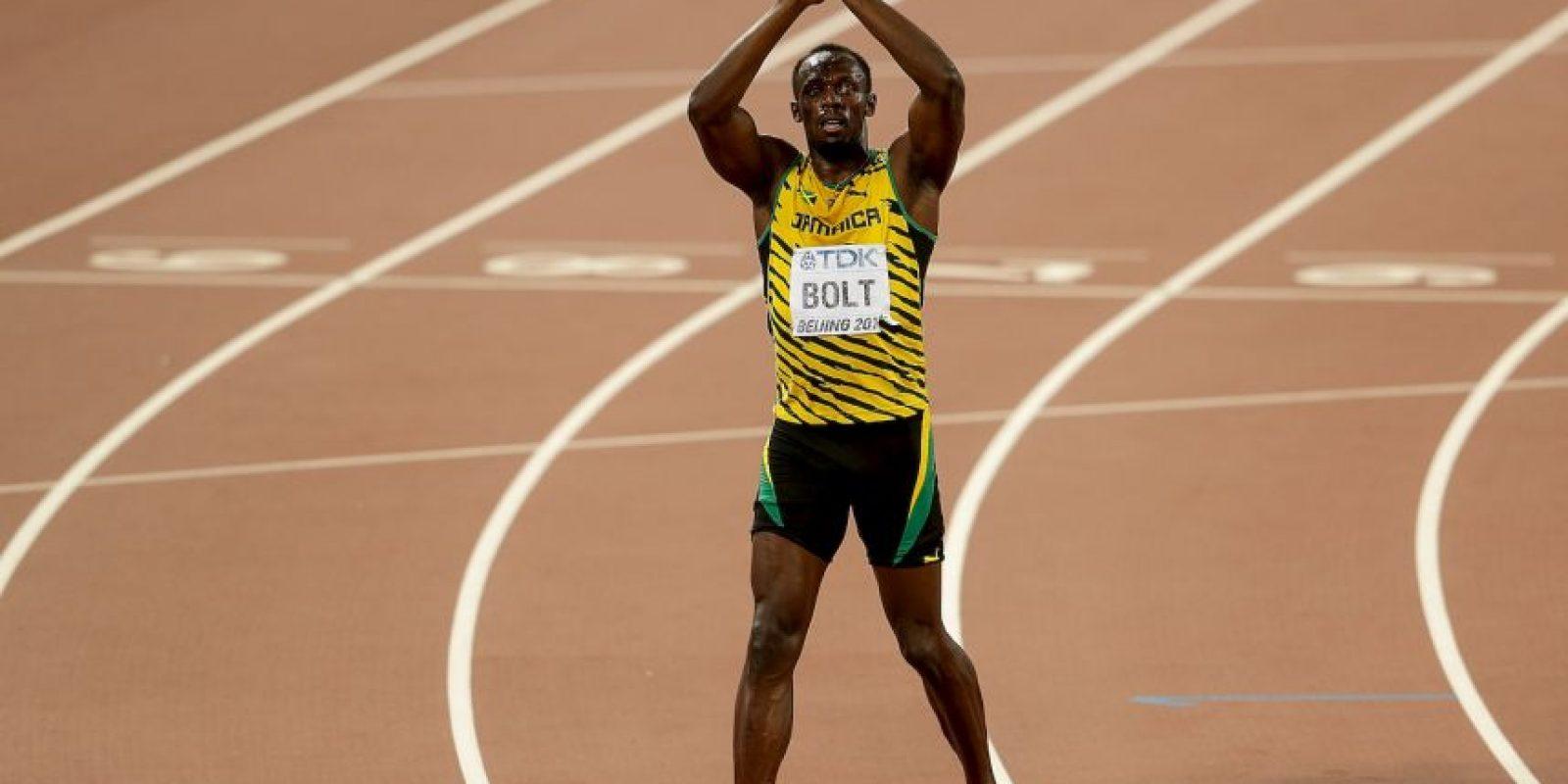 """El """"Relámpago"""" ganó los 100 y 200 metros Foto:Getty Images"""