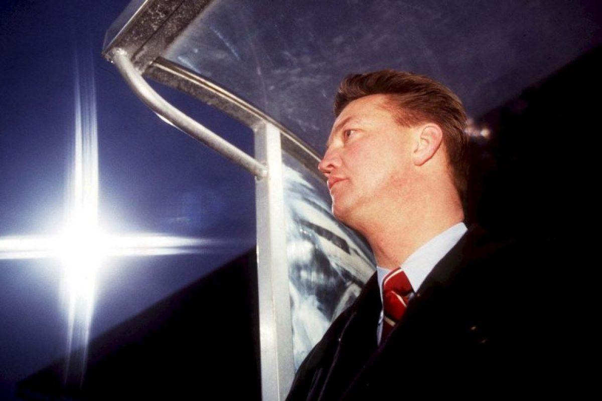 Así lucía el holandés en 1995 Foto:Getty Images