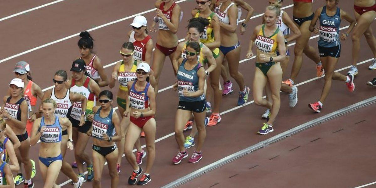 Mirna Ortiz ocupa el puesto 12 en el Campeonato Mundial de Atletismo