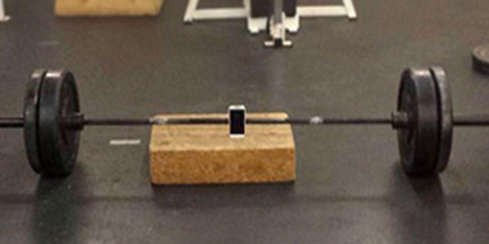 Haciendo ejercicio… Foto:Vía Facebook.com/nathan.buhler