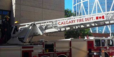 Foto al Departamento de Bomberos de Calgary Foto:Vía Facebook.com/nathan.buhler
