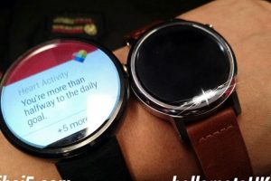Y también podrán seleccionar distintas correas Foto:Google Plus/hellomotoHK