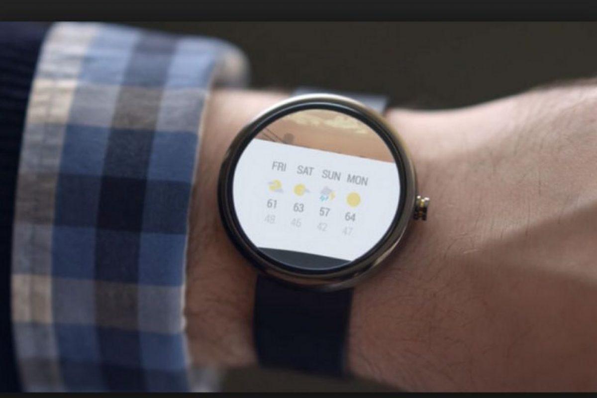 Lo malo: La pantalla no es totalmente redonda Foto:Motorola