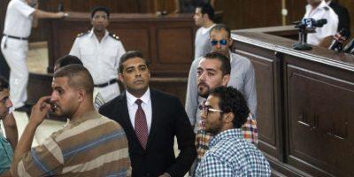 A todos se les acusa de apoyar a un grupo terrorista. Foto:AFP