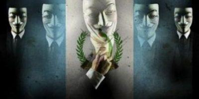Anonymous Guatemala convoca a la manifestación del papel de baño