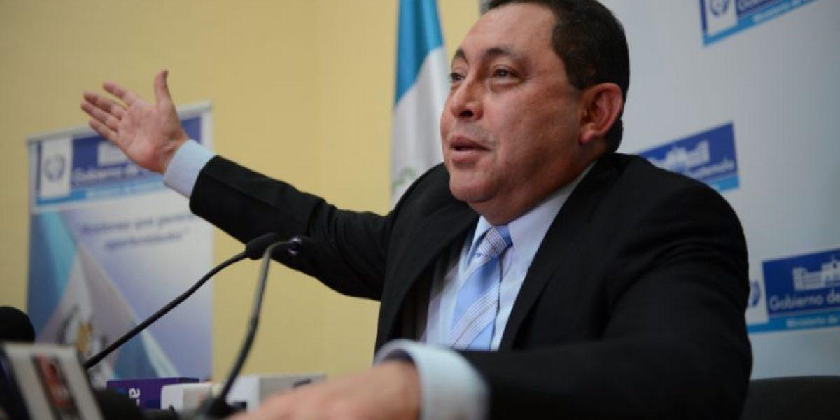 Ex Ministro de Gobernación ya regresó a Guatemala