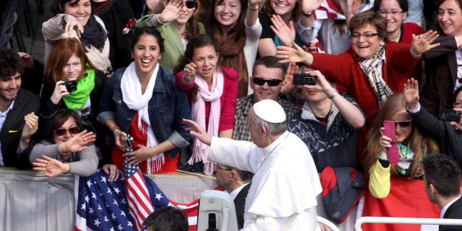 Se espera que miles de feligreses se congreguen en ese sitio. Foto:Getty Images