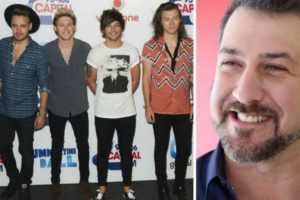 4. El exintegrante de N Sync, Joey Fatone, no escribió una carta para One Direction. Foto: Getty Images