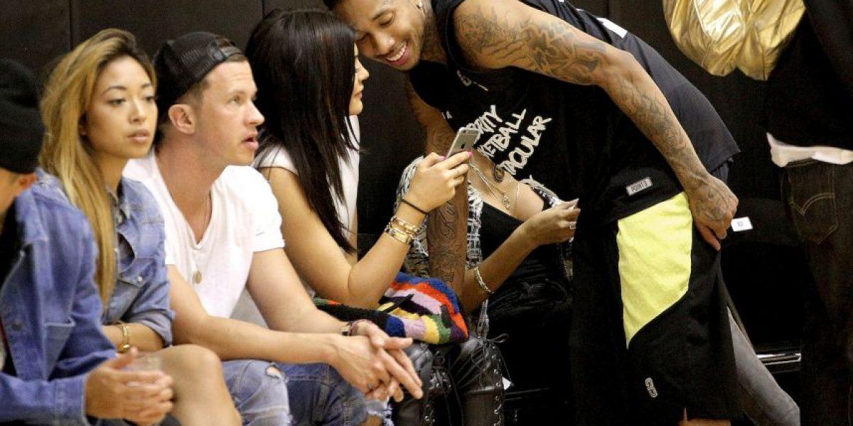 Kylie Jenner y su novio Tyga en problemas con la ley