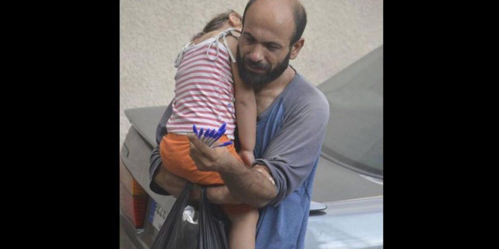 Abdul Halim Attar es uno de los cuatro millones de refugiados registrados. Foto:Vía Twitter @GissiSim