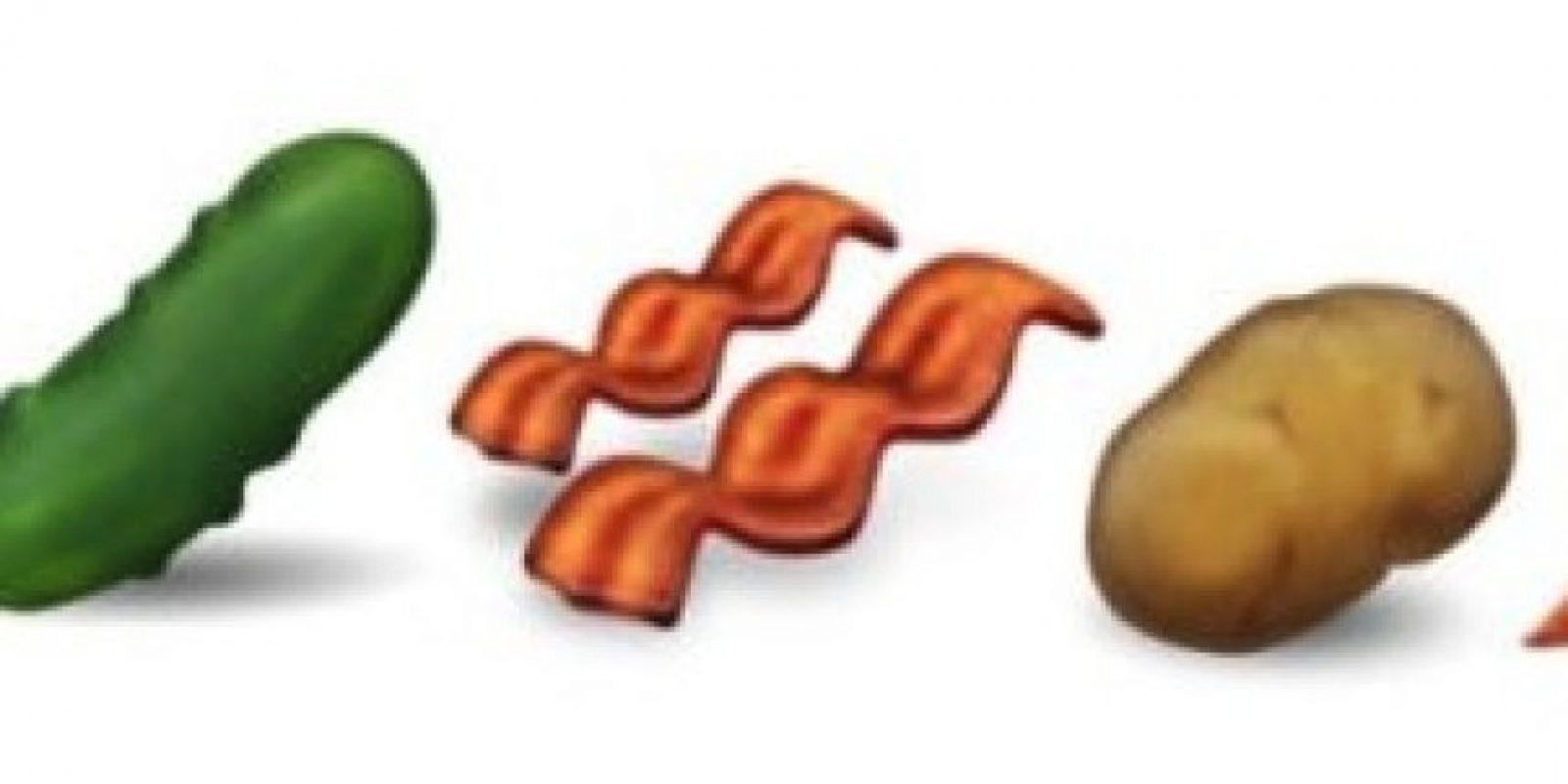 Nuevos alimentos Foto:Emojipedia