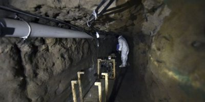 6. Además, había trampas en el túnel, las cuales se activaban en caso de que lo fueran siguiendo. Foto:AFP