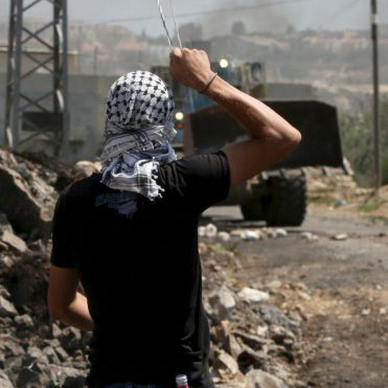 Hasta marzo de 2015, seis mil 500 palestinos se encontraban prisioneros Foto:AFP