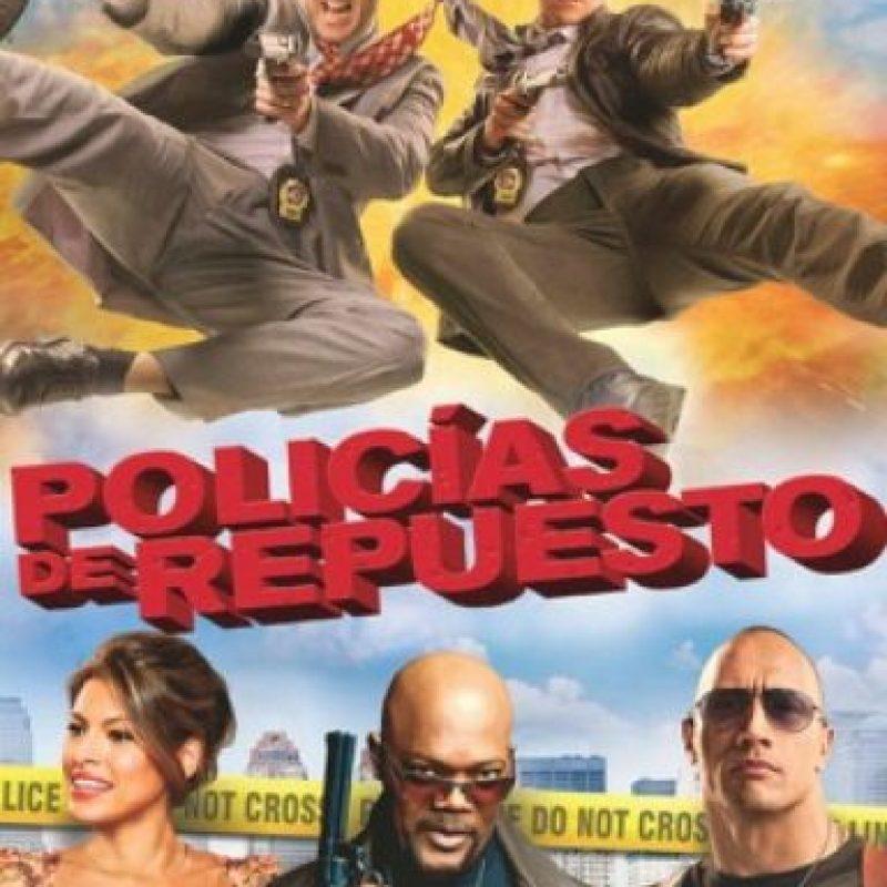 """""""Policías de repuesto"""". Disponible a partir del 1 de septiembre. Foto:Columbia Pictures"""