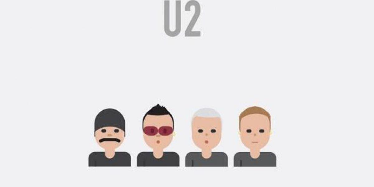 IMÁGENES. Conoce los emojis de Metallica, U2, Nirvana, AC/DC y The Beatles