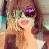 Lindsay Lohan bailó semidesnuda de un lujoso yate en las costas de Saint Tropez Foto:Instagram/lindsaylohan