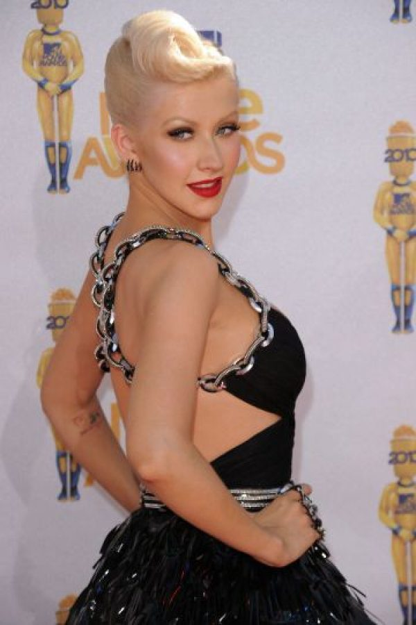 Christina Aguilera en junio de 2010 Foto: Getty Images