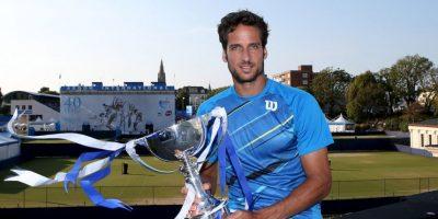 De 33 años, este español está en el puesto 33 del ranking ATP. Foto:Getty Images