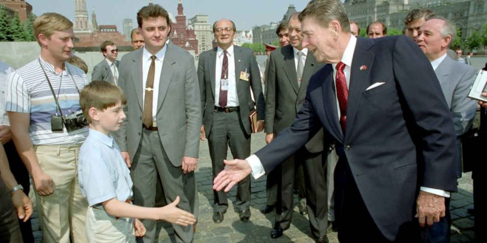 Ronald Reagan se desempeñó como actor antes de ser presidente. Foto: Getty Images
