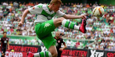 El exjugador del Wolfsburgo, elegido como el mejor de la Bundesliga pasada, fichó con Manchester City por 75 millones de euros Foto:Getty Images