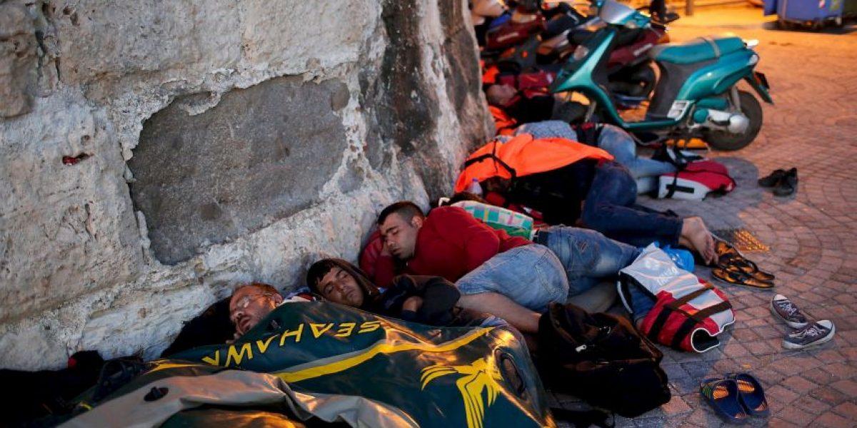 Hungría construye una valla contra inmigrantes