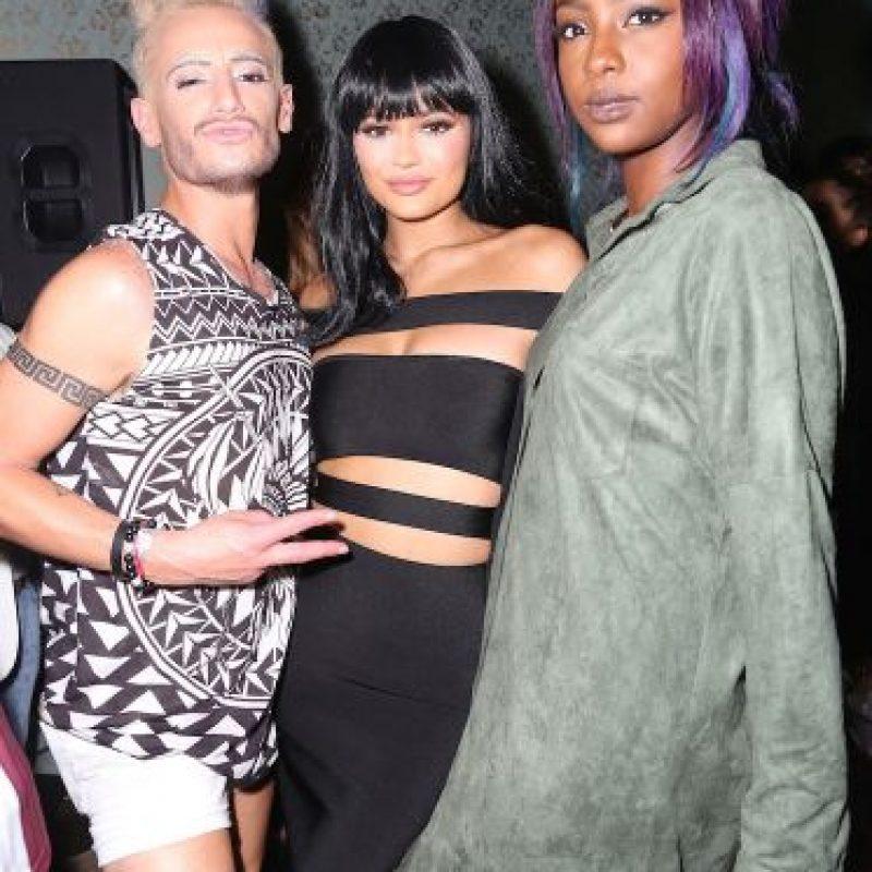 Frankie J. Grande, Kylie Jenner y Justine Skye Foto:Getty Images