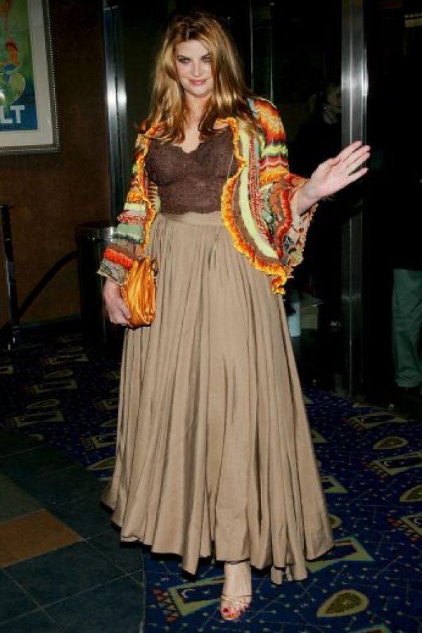 Kristie Alley ha subido y bajado de peso en un sin fin de ocasiones Foto:Getty Images