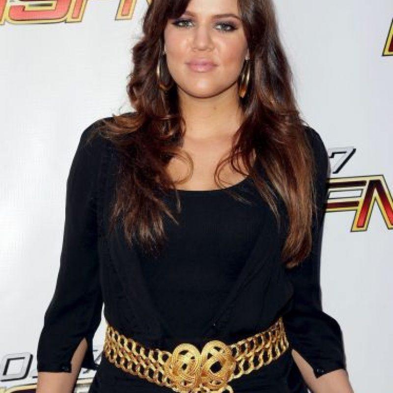 Khloé Kardashian, su principal método para bajar de peso fue el ejercicio Foto:Getty Images