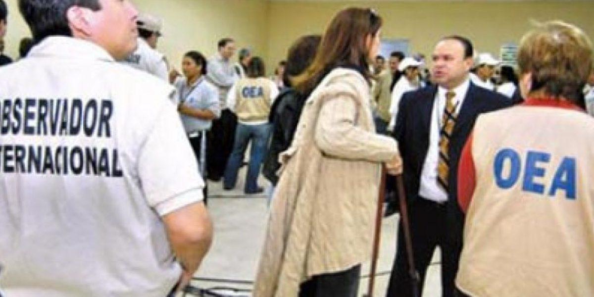 El domingo en las elecciones generales habrán 50 mil observadores