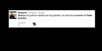 El canal colombiano Caracol sacó el biopic del capo hace tres años. Foto:vía Twitter