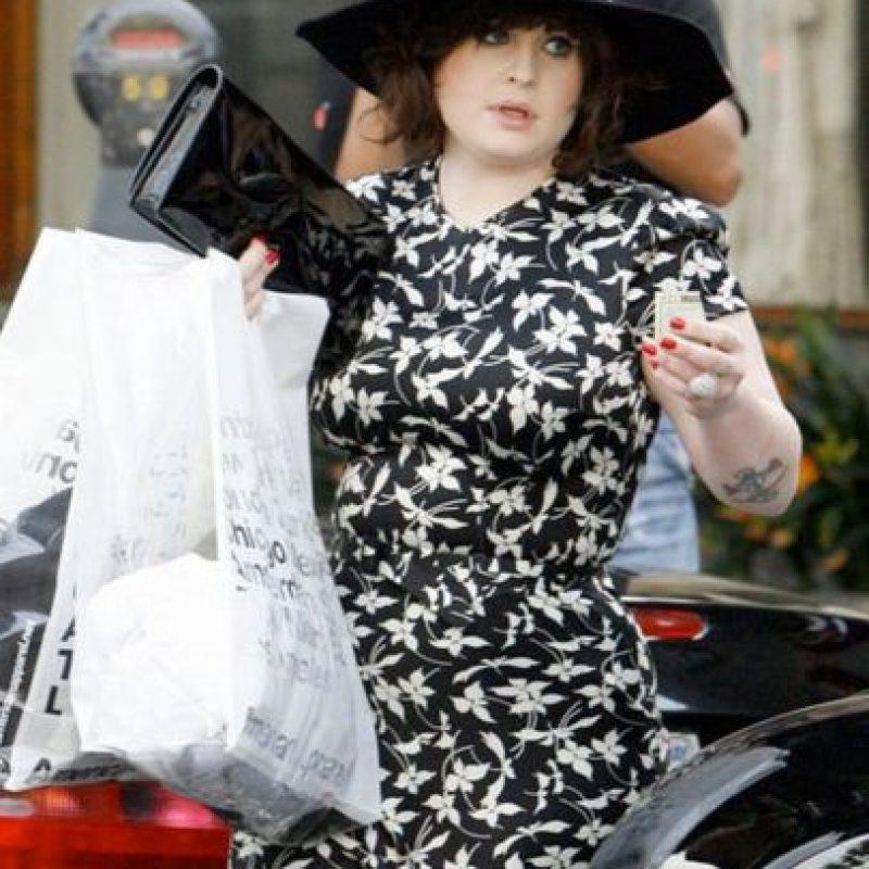 Kelly Osbourne no solo cambió su look Foto:Getty Images