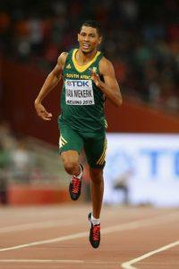 Conquistó los 400 metros, por encima del estadounidense LaShawn Merritt. El sudafricano terminó con un tiempo de 43 segundos y 48 centésimas de segundo Foto:Getty Images