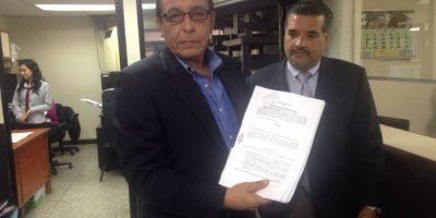 Abogados presentan la denuncia Foto:Cortesía