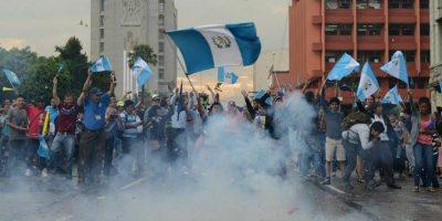 Fotos. Celebran en las calles el retiro de la inmunidad al presidente Otto Pérez
