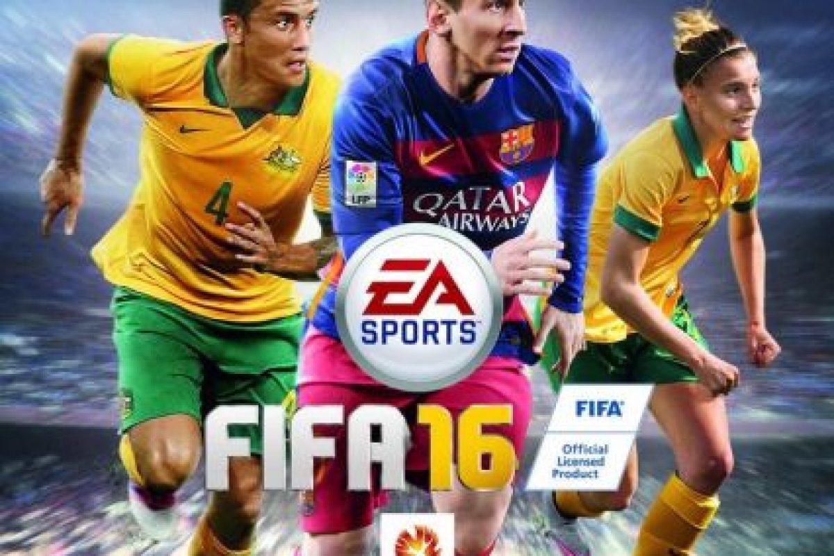 Por primera vez en la historia del juego una mujer aparecerá en la portada. Ella es Stephanie Catley, jugadora de la selección australiana de fútbol y estará con Tim Cahill. Foto:EA Sports